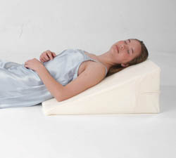 Memory Foam Bed Wedge Pillow - Wide (40 inches) - w/pillow cover