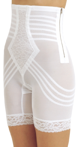 Rago Long Leg Buttocks Lifting/Augmentation Padded Shaper Brief (w/Removable Pads)