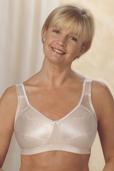 4853a48555 Trulife (Camp) Embroidered M-Frame Softcup Bra
