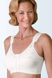 Jodee Sheer Comfort Bra (Front & Back Hook Adjustments)
