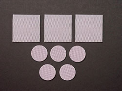 Biodermis/Epi-Derm Scar Reduction & Healing Silicone Squares or Circles (6 pieces) (Self-Adhesive)