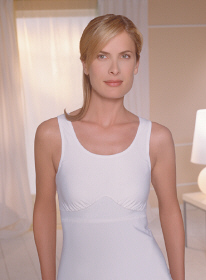 Amoena Post-Surgery Camisole (W/ 2 Fiberfill Leisure Forms & 2 Removable Drains)