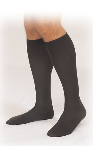 Truform Men Over-the-Calf Therapeutic Support Socks (15-25 mmHg, Closed Toe) - 1933