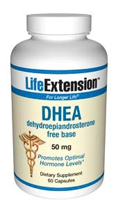 Life Extension Dhea 50mg 60 Capsules