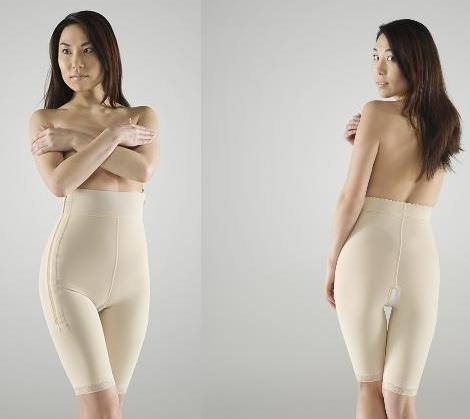 Mid Body Compression Garment - Above Knee - Stage 1 (Marena) - OPENED