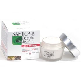 Santica Facial Firming Cream W/ Soy, Grape Seeds & Biotech Hyaluronic Acid