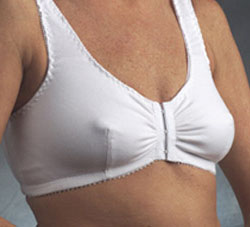 Nearly Me Cotton Front Hook Leisure Bra