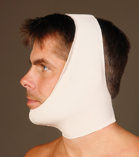 Two Strap Facial Surgery Compression Garment (Contemporary Design)