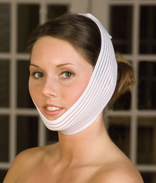 Facial Surgery Universal Facial & Otoplasty Band Compression Garment (Contemporary Design)