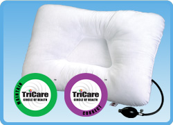 Core Products Air Adjustable Neck Pillow w/Hand Pump