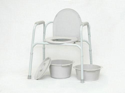 Commode - 3 In 1 Deluxe Steel Powder Coated - PMI