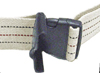 Gait Belt w/ Safety Release 2 x72  Striped