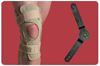 Knee Brace  Open Wrap Range of Motion  Extra Small