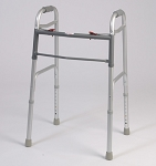 Alex Orthopedic Dual Button Folding Walker