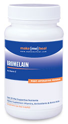 MakeMeHeal Bromelain Swelling Recovery Natural Supplement (With Quercetin & Vitamin C)