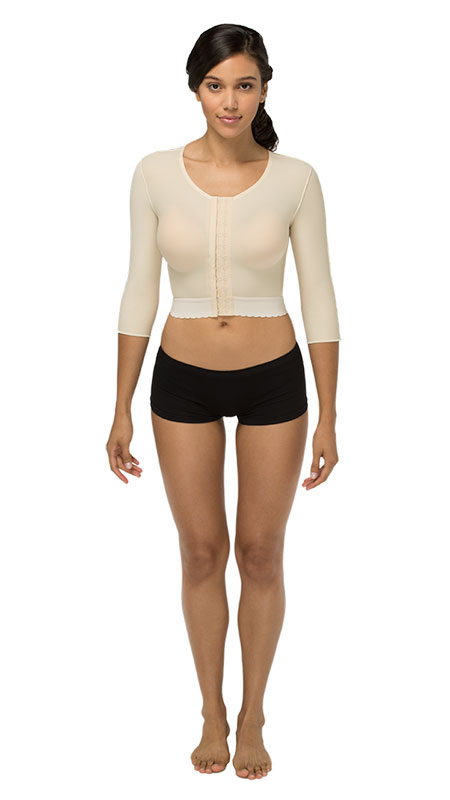 Marena Arm, Back & Shoulder Medium-Length Sleeve Cosmetic Surgery Compression Garment (GFVM)