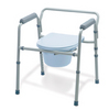 Folding 3 In 1 Steel Commode  (case of 4)