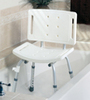 Shower Chair w/ Back  (case of 4)