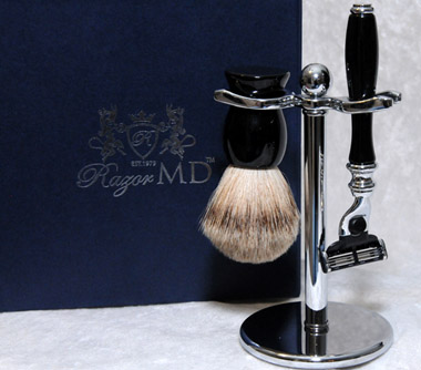 Razor MD Black 360 Mach Razor Set