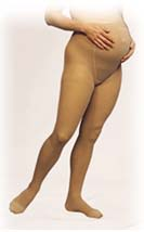 Truform Women's Lites Sheer Support Maternity Pantyhose (10-20 mmHg)