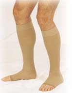 Truform Women's Knee High Lites Support Stockings - Closed Toe (10-20 mmHg)