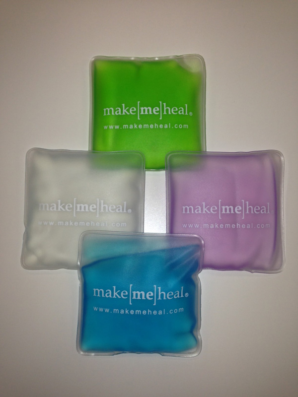 MakeMeHeal Reusable Cold Ice Gel Pack - 3x3